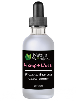 Hemp Oil + Rose Hip Facial Serum