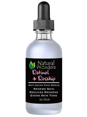 Retinol + Rose Hip Facial Serum