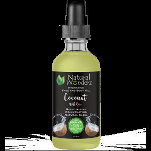 Rose & Coconut Face & Body Oil